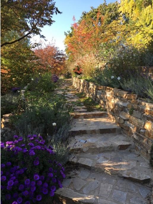 Herbststimmung im Terrassengarten